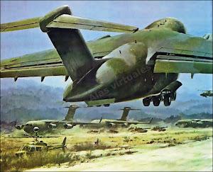 Representación artística del Boeing C-17