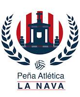 "la peña atlética ""la nava"" estrena logo"
