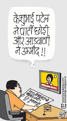 lal krishna advani cartoon,bjp cartoon, election 2014 cartoons, indian political cartoon