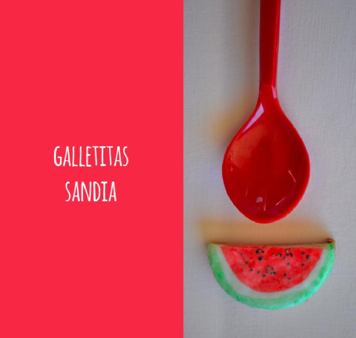 Galletitas Sandía - receta