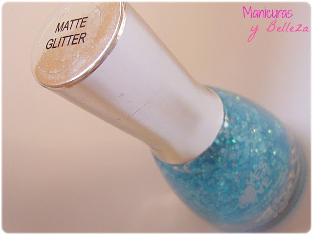 Yes Love Matte Glitter Spekled Easy Paris