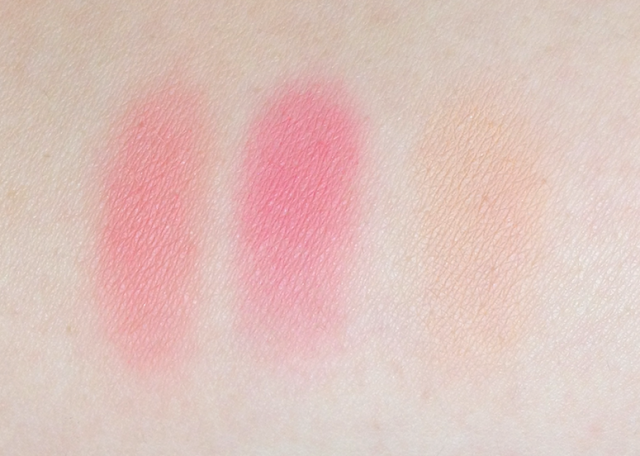 Clarins Rouge Éclat palette Radiance Range Collection Palette Éclat Face Blush Powder spring 2013 swatches