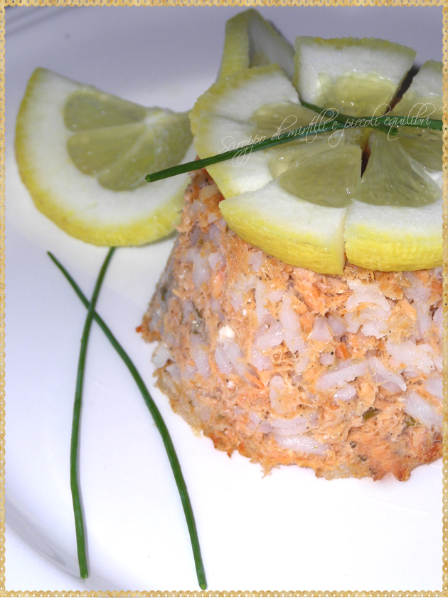 Pudding di salmone all'irlandese