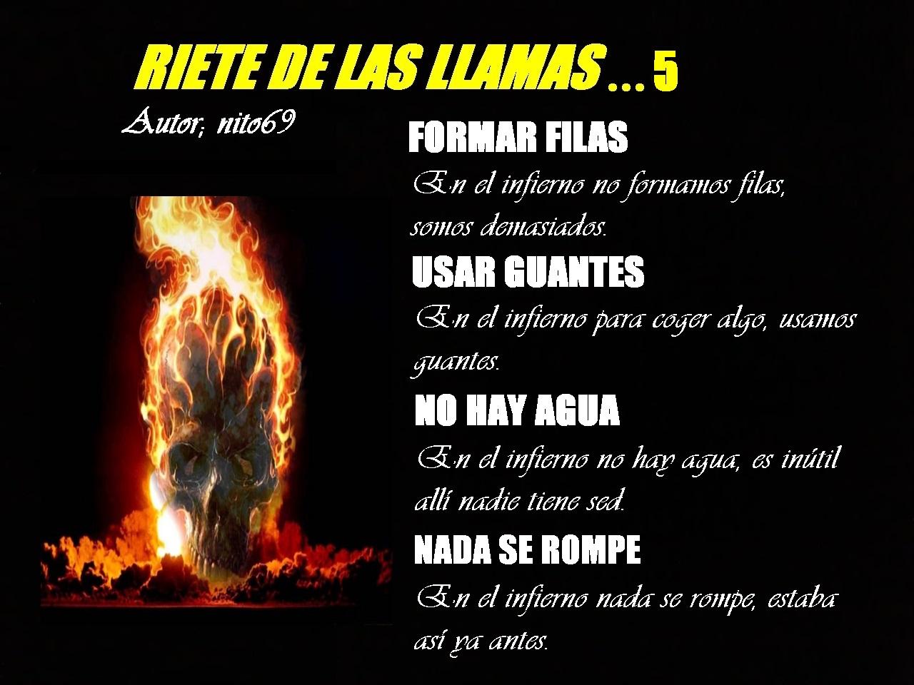 RIETE DE LAS LLAMAS...5