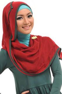 Model Kebaya Muslim Berjilbab Modern
