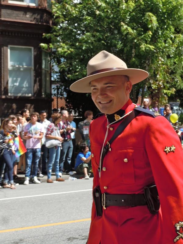 33rd Vancouver Pride Parade Mountie