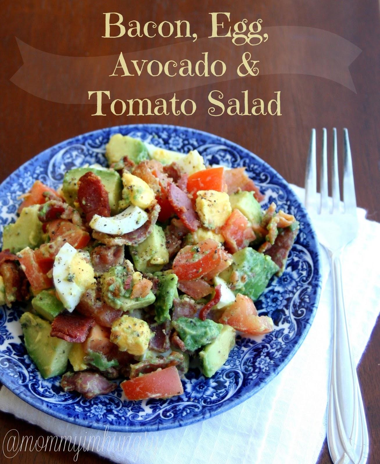 MIH Recipe Blog: Bacon, Egg, Avocado and Tomato Salad