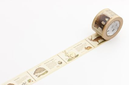 woodland washi tape