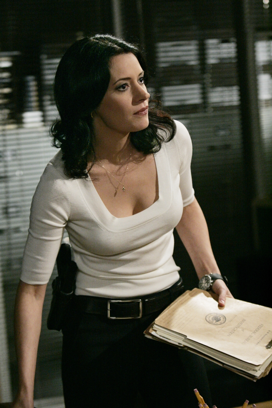 paget brewster hot