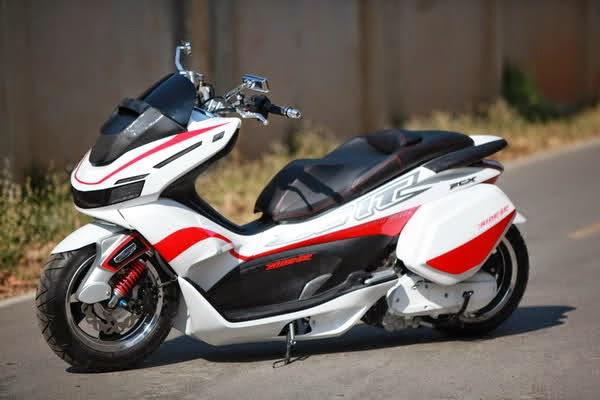 Modifikasi Honda PCX 125 Ceper