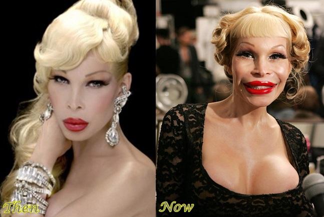transsexual celebrity look a like 2