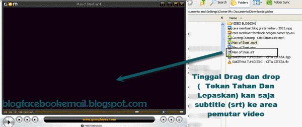cara melihat video dengan subtitle