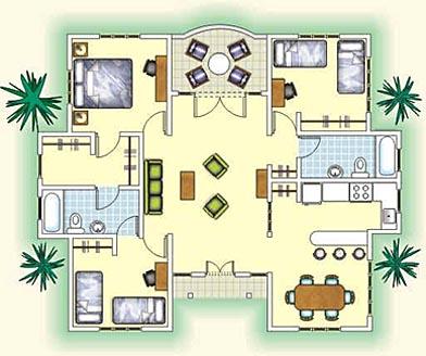 Planos de casas aprender a hacer manualidades - Como hacer un plano de una casa ...