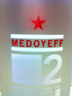 Medoyeff Vodka by Lee Medoff of Bull Run Distilling