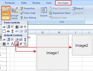 membuat desain aplikasi sederhana di excel