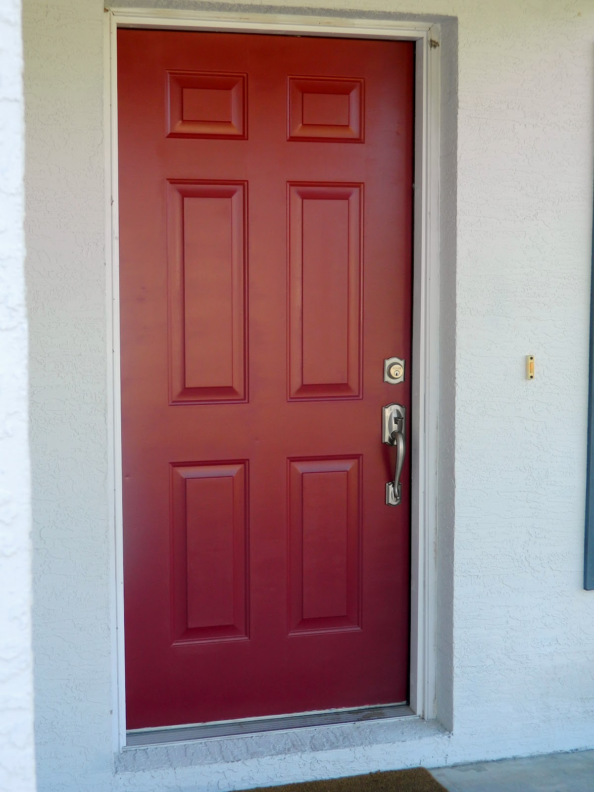 Come on over front door progress Front door paint benjamin moore
