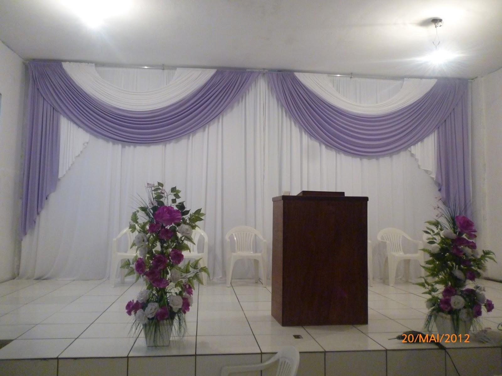 cortinas para igrejas | luciana cortinas