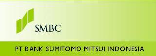 Lowongan Kerja Bank Sumitomo Mitsui Indonesia Februari 2013