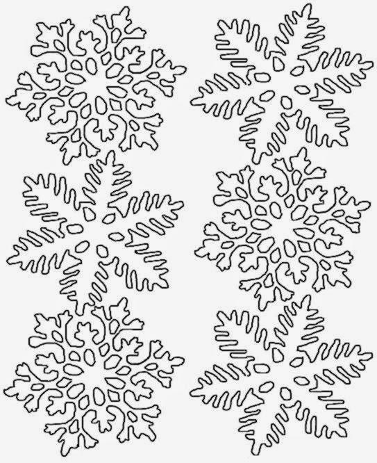 snowflake coloring sheets free coloring sheet - Snowflake Coloring Pages Kids
