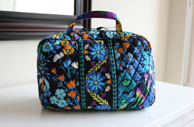 Vera Bradley Grand Cosmetic Review travel