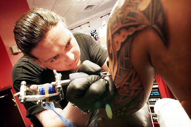 Make tattoo art