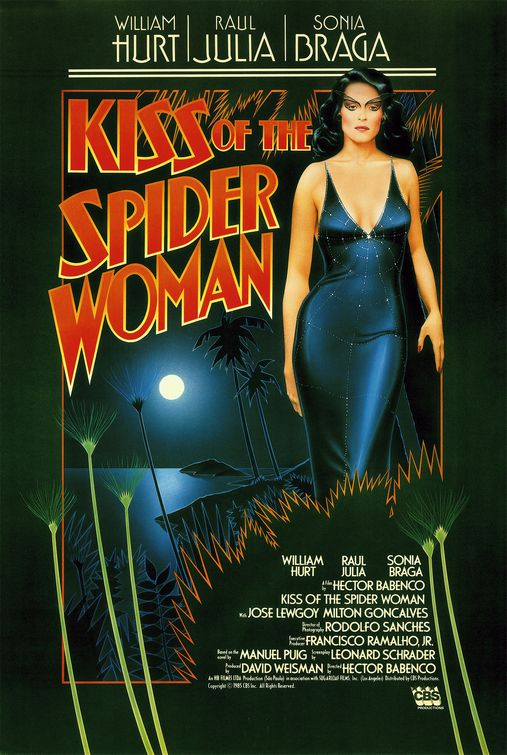 kiss of the spider woman Kiss of the spiderwoman - show  1995 production of kiss of the spider woman directed by harold  aurora gives him that fateful kiss cast  molina.