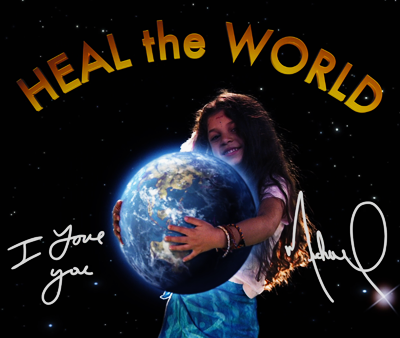 Michael Jackson's – This is it – Heal the world. Thank you Michael.