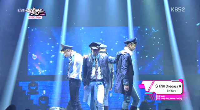 SHINee SHINe Music Bank 130427