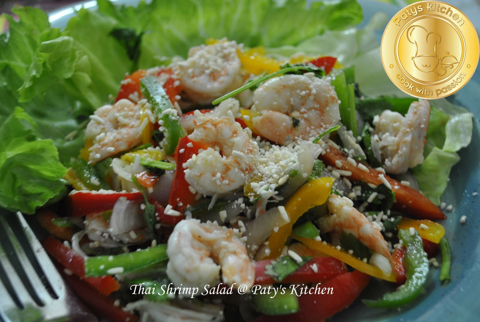 PATY'S KITCHEN: THAI SHRIMP SALAD / SALAD AKA KERABU UDANG THAI