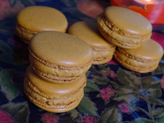 Pumpkin Spiced Macaron Recipe