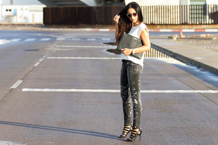 Resumen looks casual comodo chic urbano elegante con jeans de diferentes marcas como ASOS