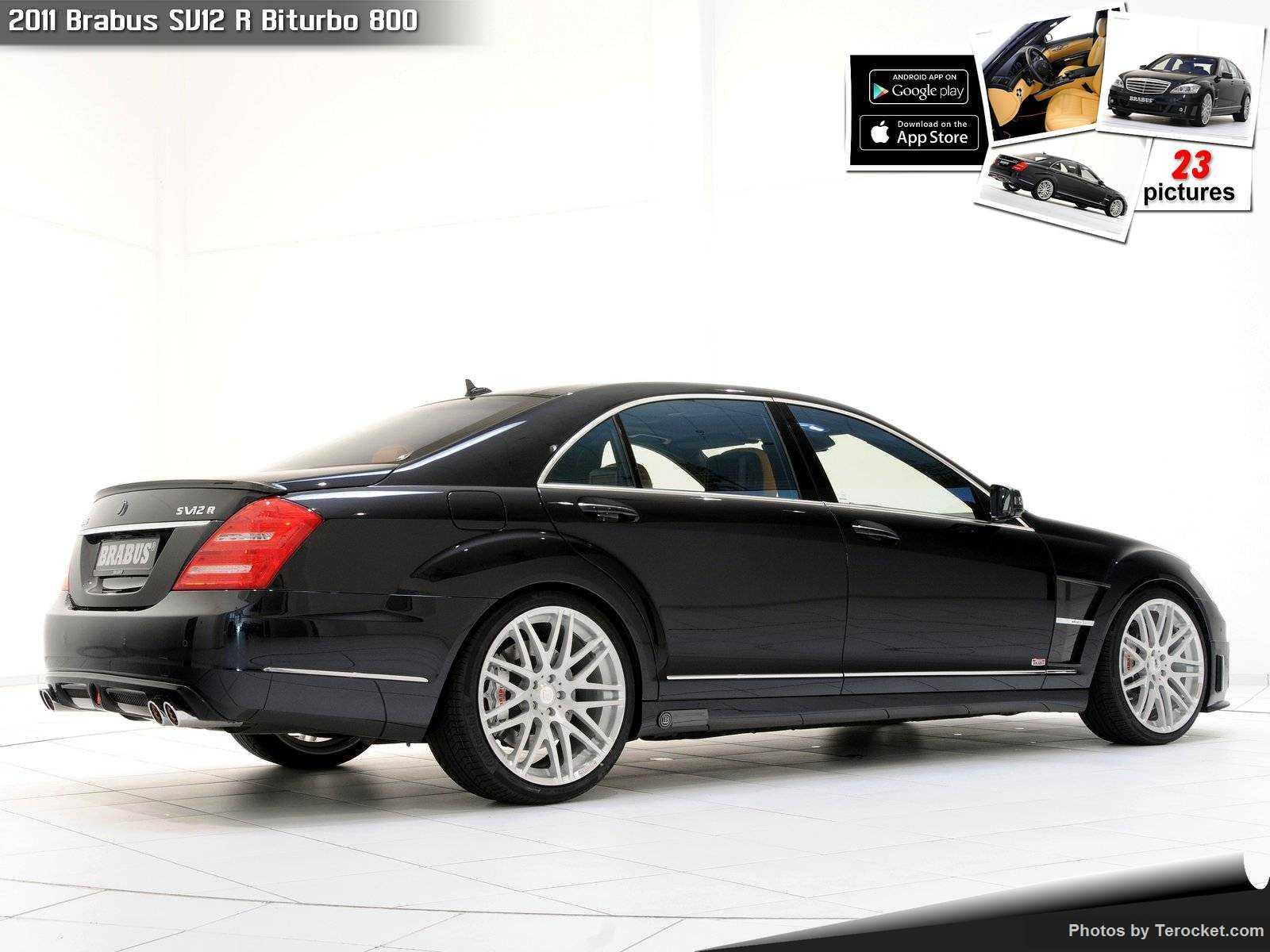 Hình ảnh xe ô tô Brabus SV12 R Biturbo 800 2011 & nội ngoại thất