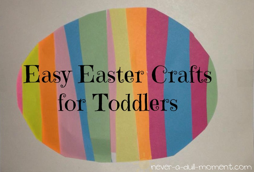 Sweet Stella 39 S Easy Easter Crafts For Toddlers