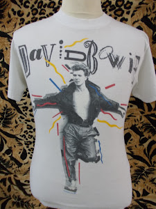 VTG DAVID BOWIE 1987 SHIRT