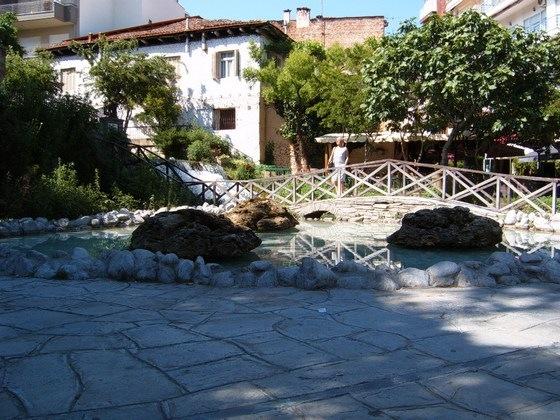 Το πάρκο των μικρών καταρρακτών το 2004