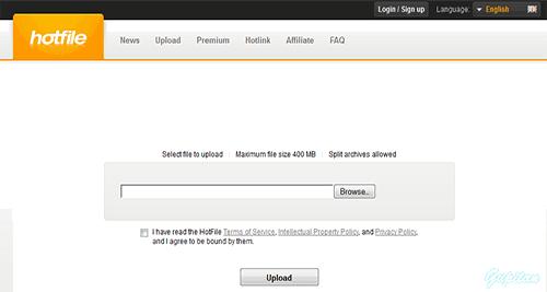 Situs File sharing Hotfile Resmi Ditutup