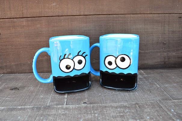 diseños de tazas creativas