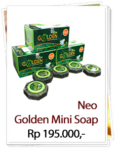 Golden Mini Soap