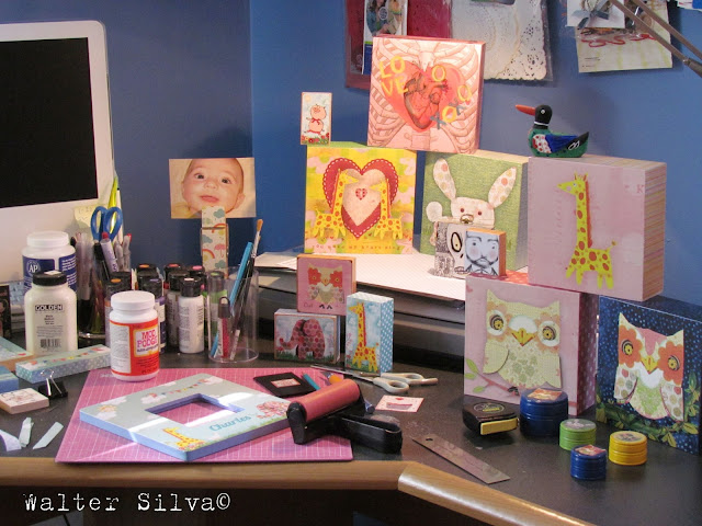 Corner at Walter Silva's Studio
