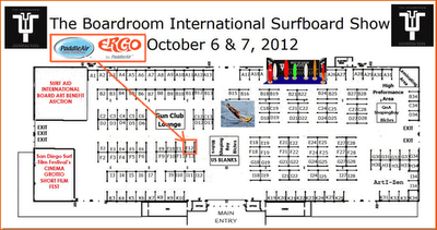 PaddleAir Booth E12 International Surfboard Show
