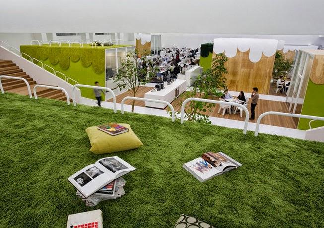 HAKUHODO Office Interior Design Ideas 2