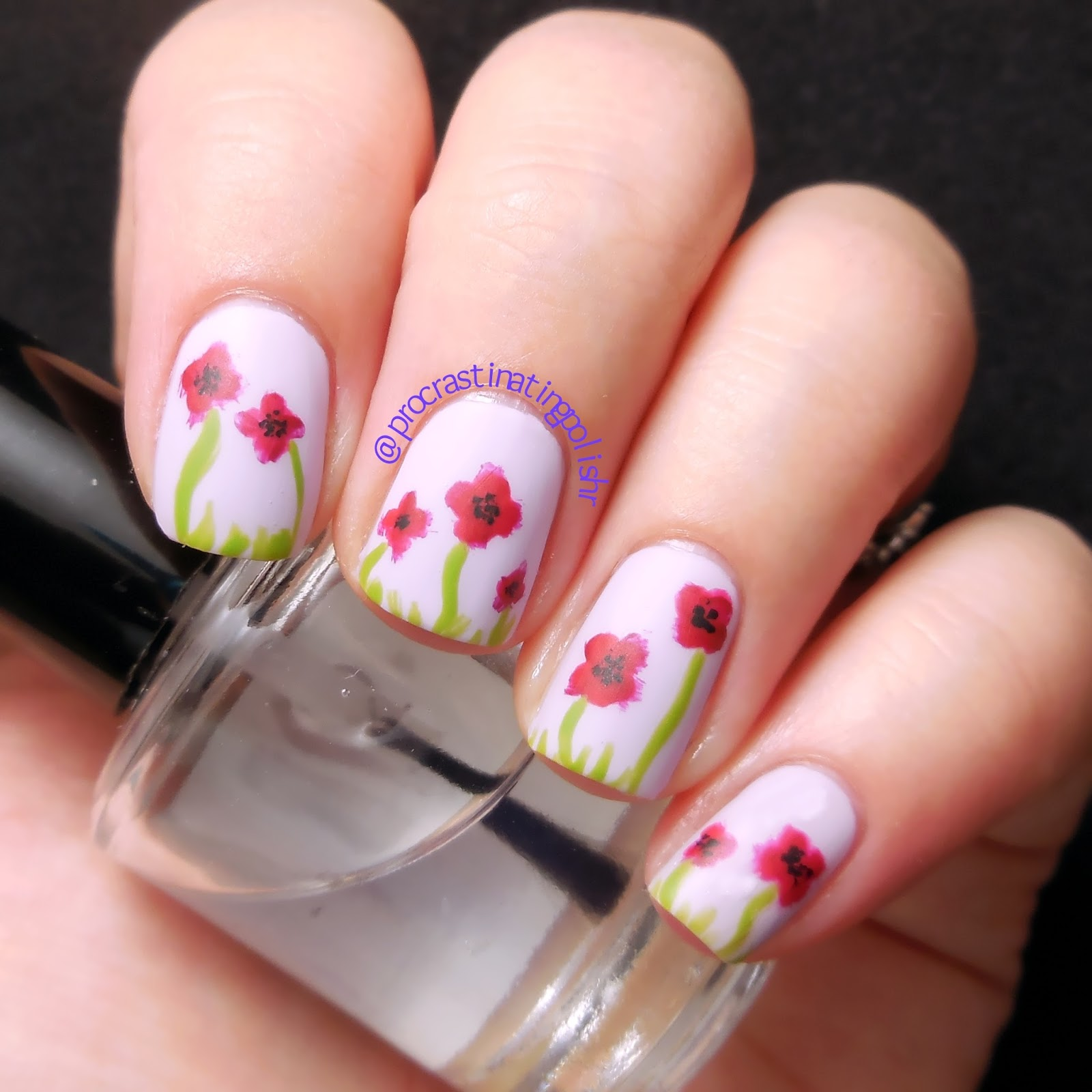 Tri Polish Tuesday - Poppies
