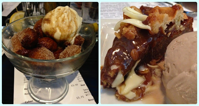 Solita Manchester - Deep Fried Coke and Sticky Toffee Waffle Pudding