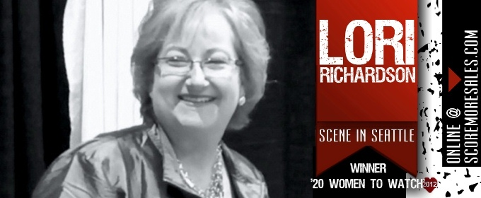 "Lori Richardson, ""TOP 25 Sales Influencers for 2012"".List."