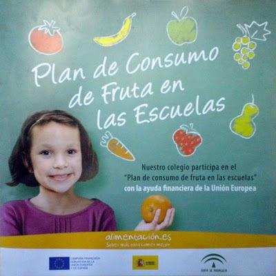 plan consumo fruta escuela