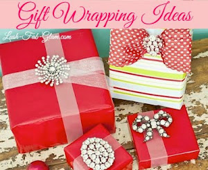 Holiday Gift Wrapping Ideas: See the beautiful & unique ways to embellish your gift.