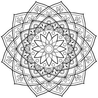 see more coloring pages for adults digital adult coloring books mandala - Adult Coloring Pages Mandala