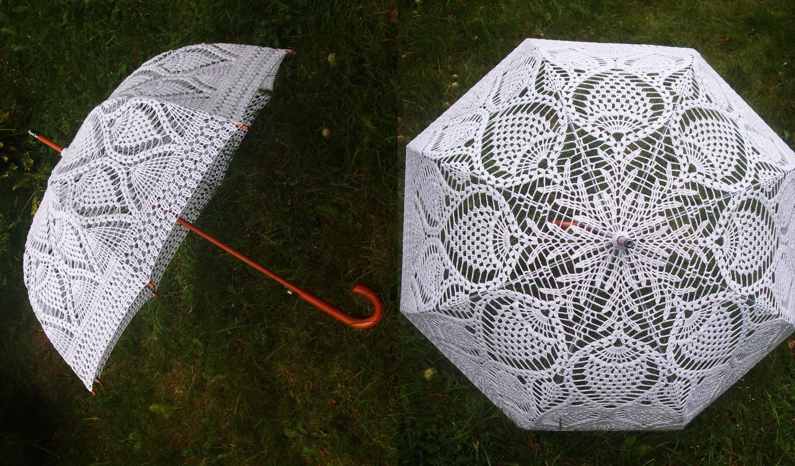 Koronkowa parasolka 2