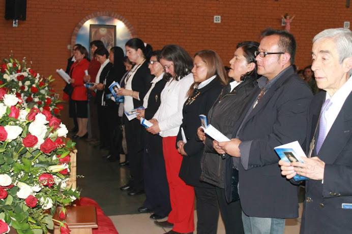 Consagración de Misioneros de la Divina Misericordia 2015