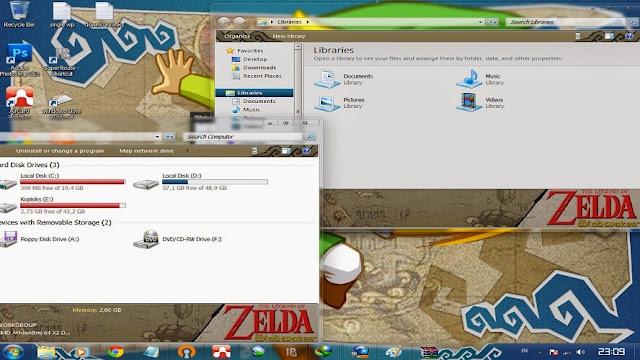 [ Theme Win 7 ] Legend Of Zelda 2